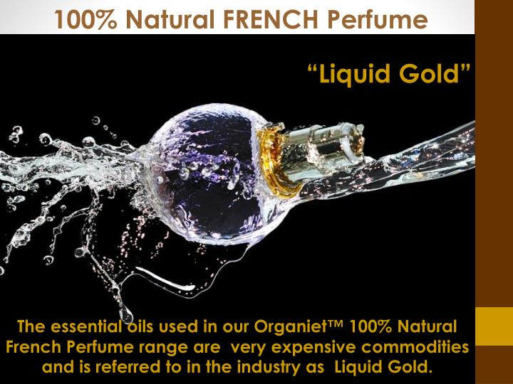 100% Natural FRENCH Perfume