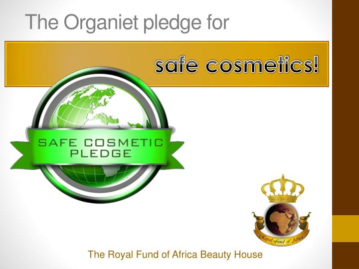 The Organiet pledge for