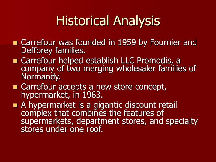 ethical analysis of carrefour corporation