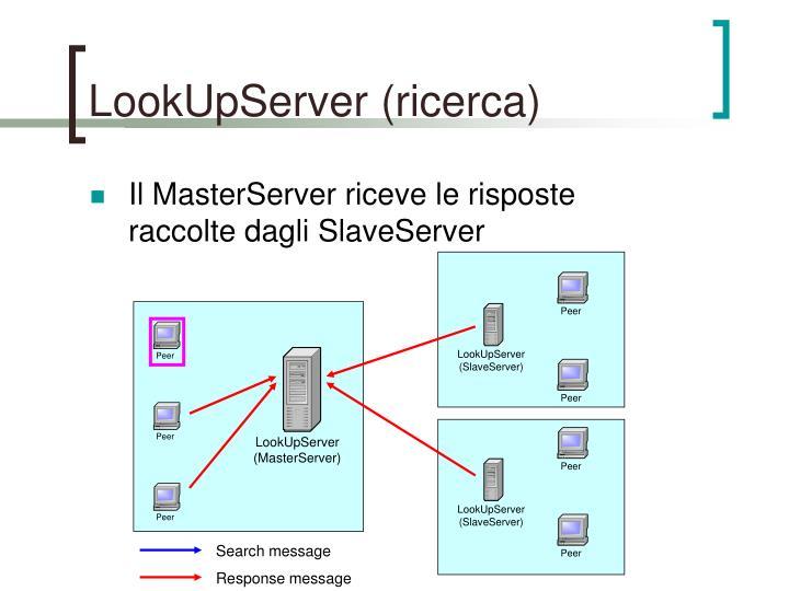 LookUpServer (ricerca)