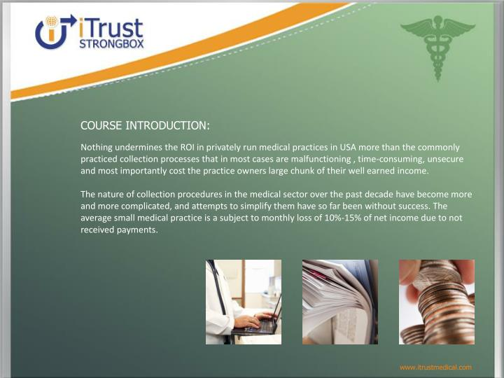 COURSE INTRODUCTION: