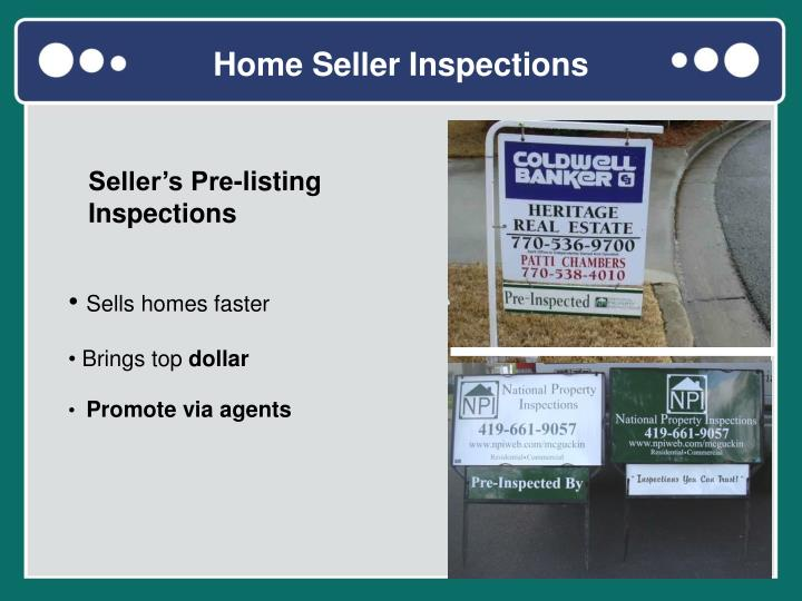 Home Seller Inspections