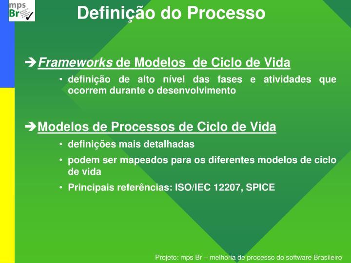 Definição do Processo