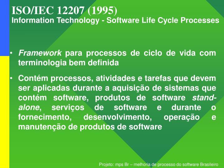 ISO/IEC 12207 (1995)
