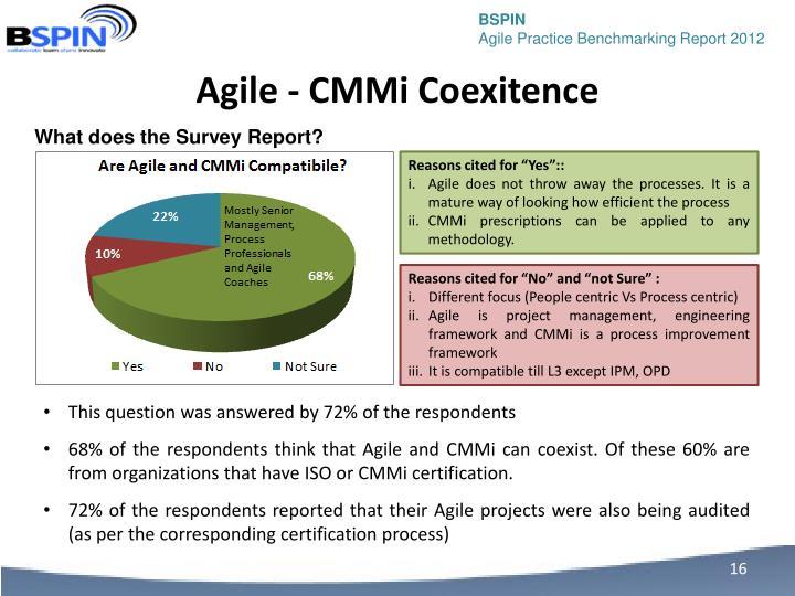 Agile - CMMi Coexitence