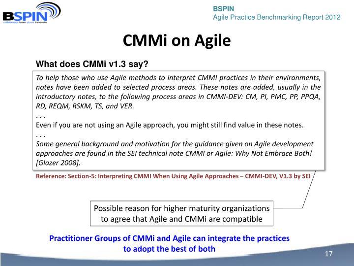 CMMi on Agile
