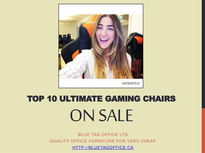 Top 10 Ultimate Gaming Chairs