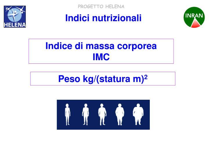 Indici nutrizionali