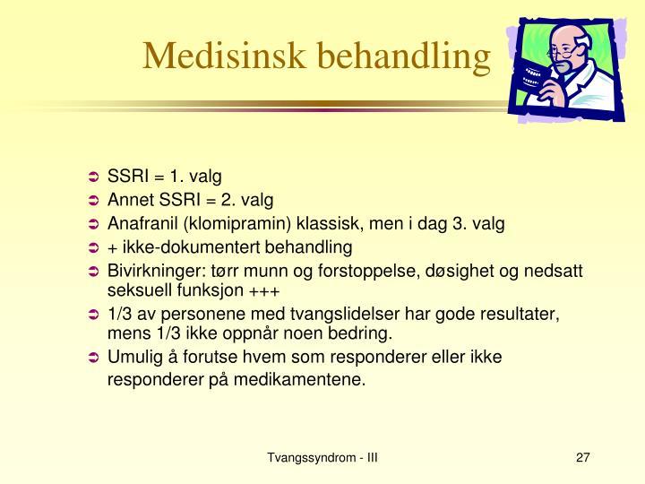 Medisinsk behandling