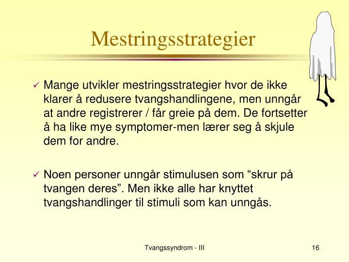 Mestringsstrategier