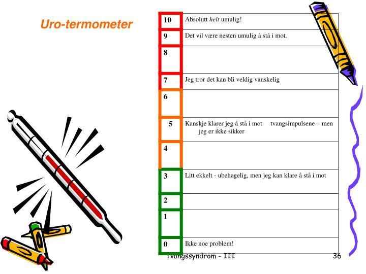 Uro-termometer