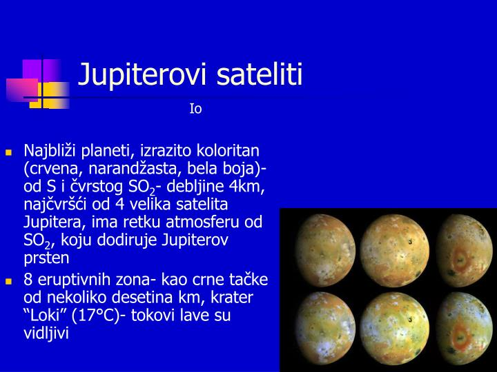 Jupiterovi sateliti