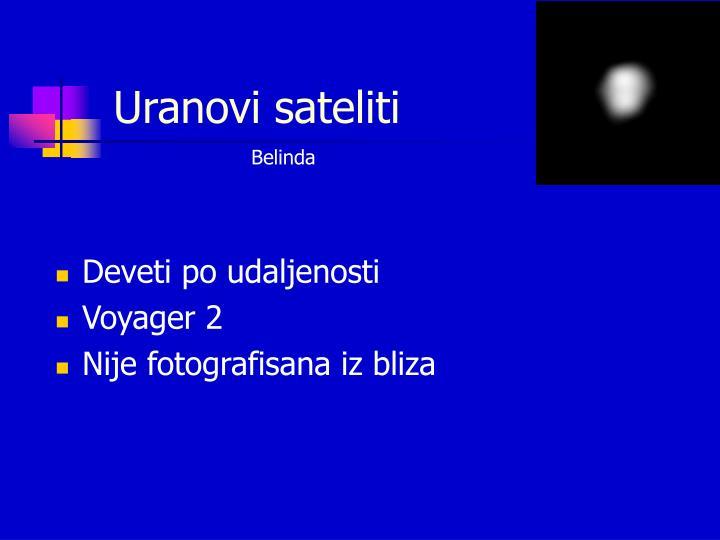 Uranovi sateliti