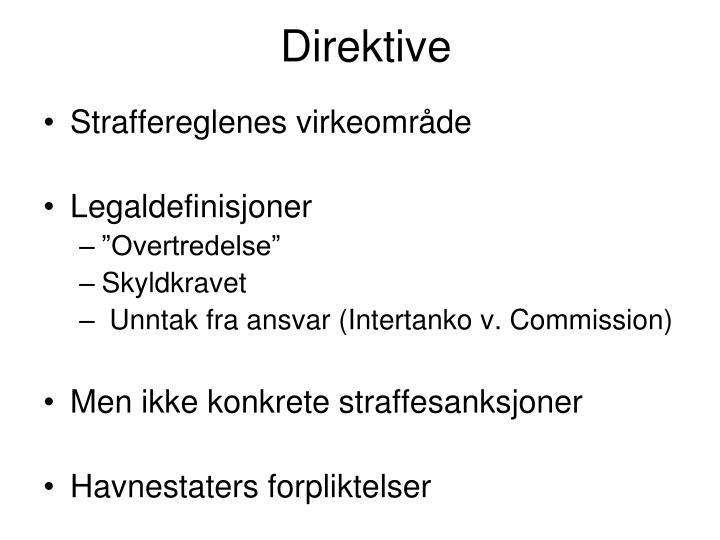 Direktive