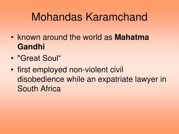 Mohandas Karamchand