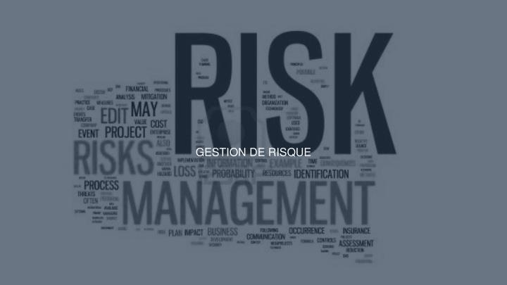 Gestion de risque