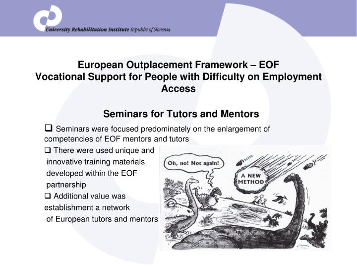 European Outplacement Framework – EOF