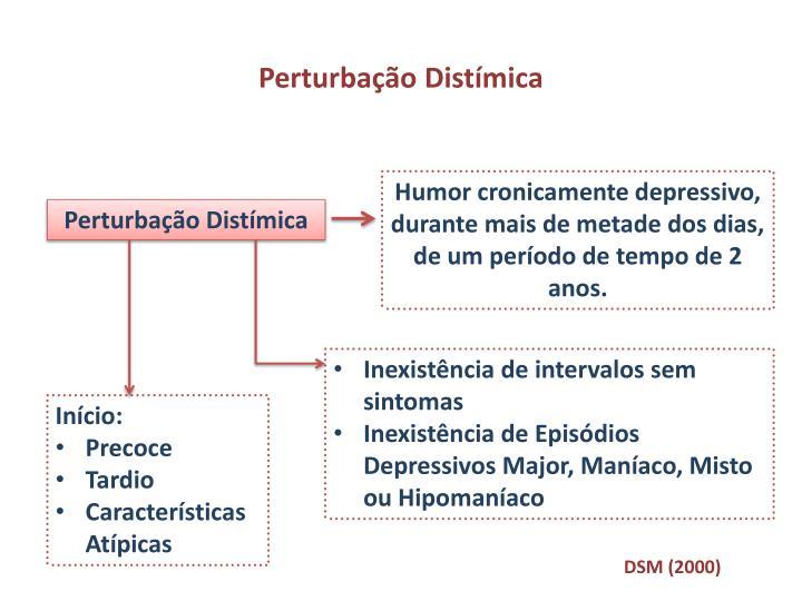 Perturbação Distímica