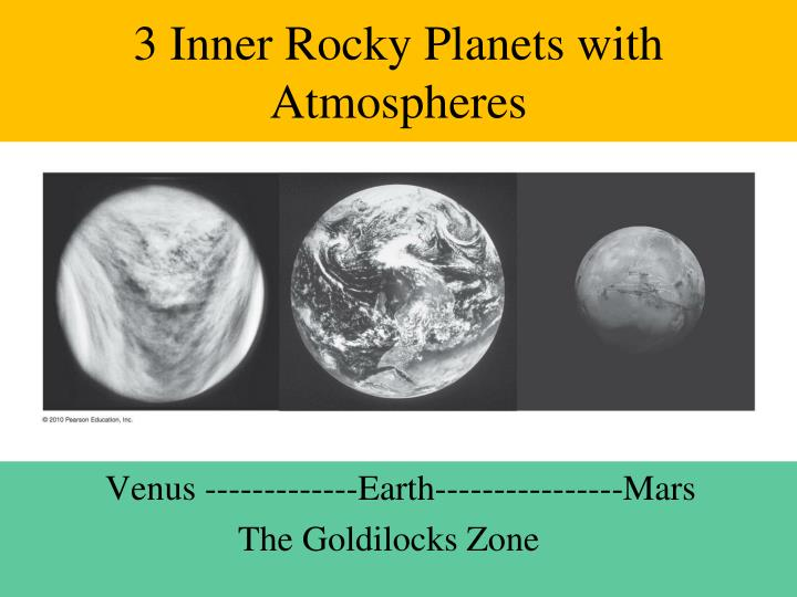 3 Inner Rocky Planets with Atmospheres
