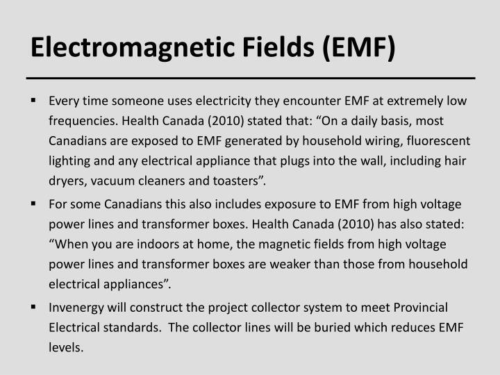 Electromagnetic Fields (EMF)
