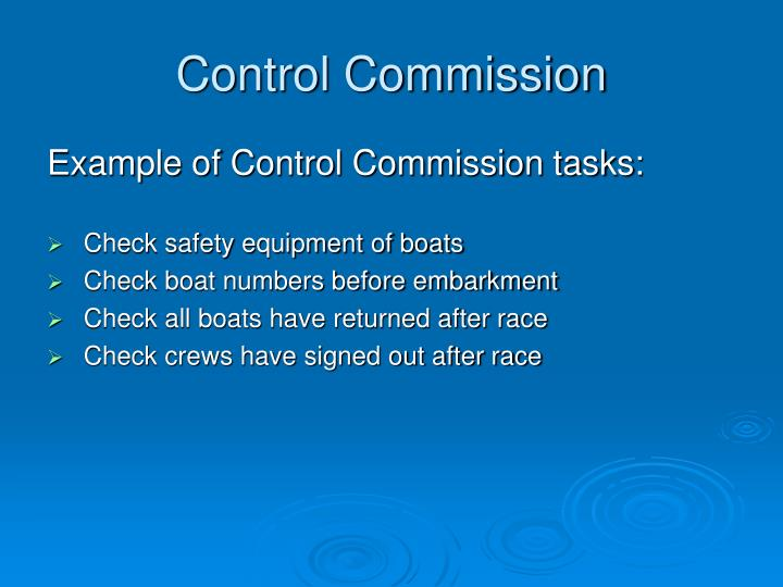 Control Commission