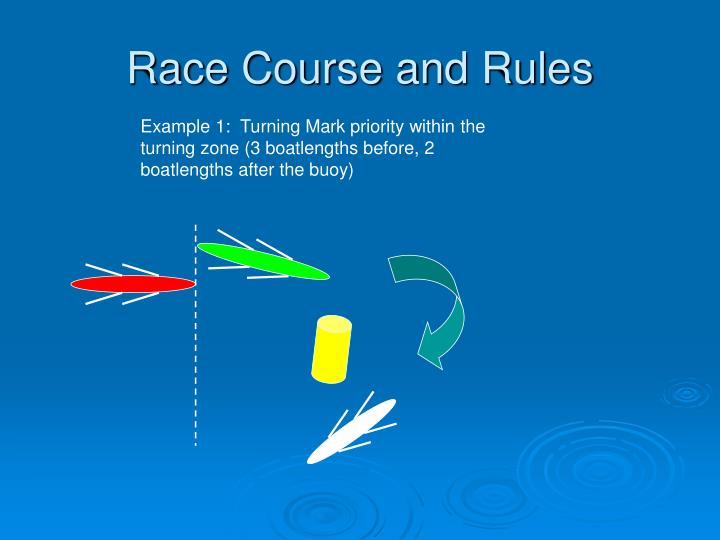 Race Course and Rules