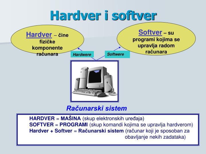 Hardver i softver