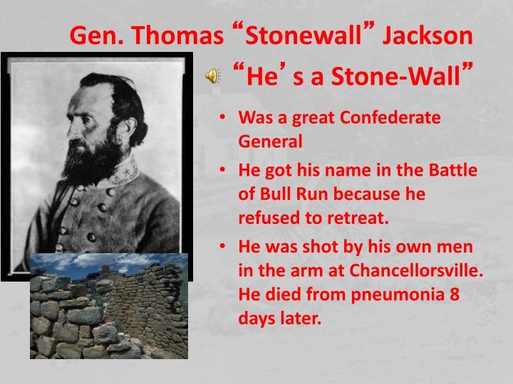 Gen. Thomas