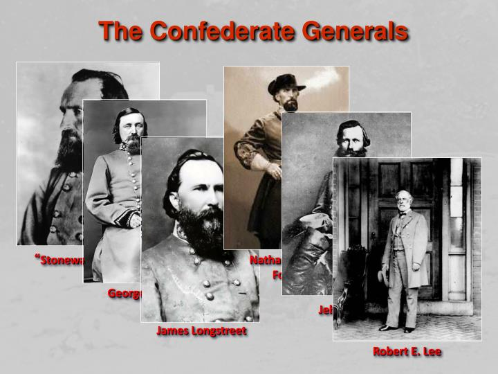 The Confederate Generals