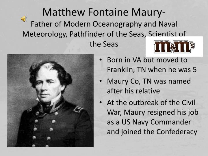 Matthew Fontaine Maury-