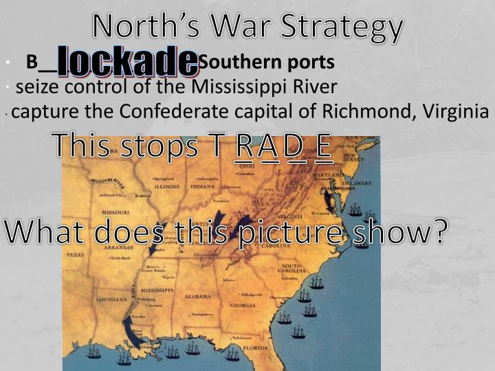 North's War Strategy