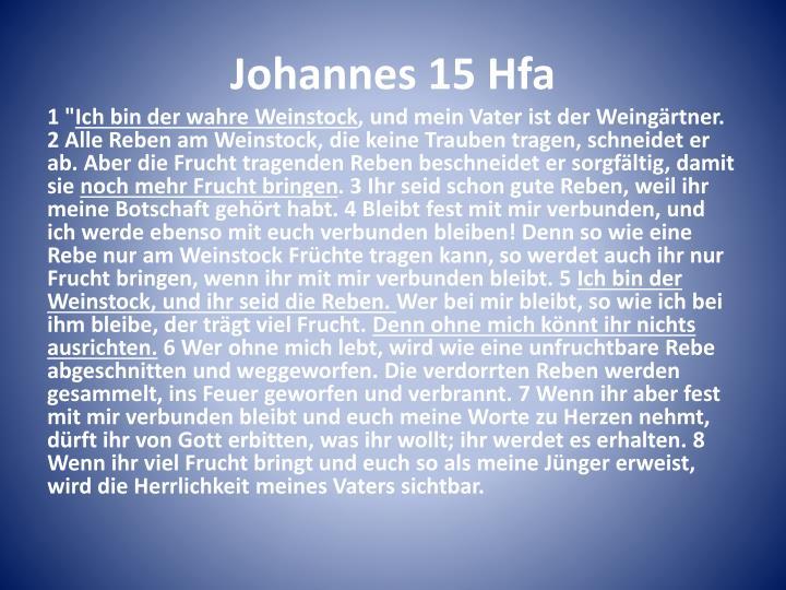 Johannes 15