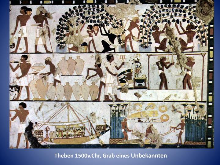 Theben 1500v.Chr, Grab eines