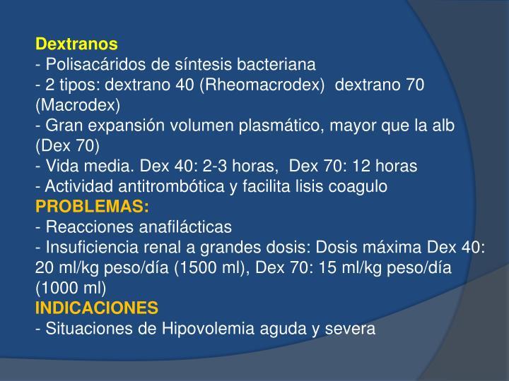 Dextranos