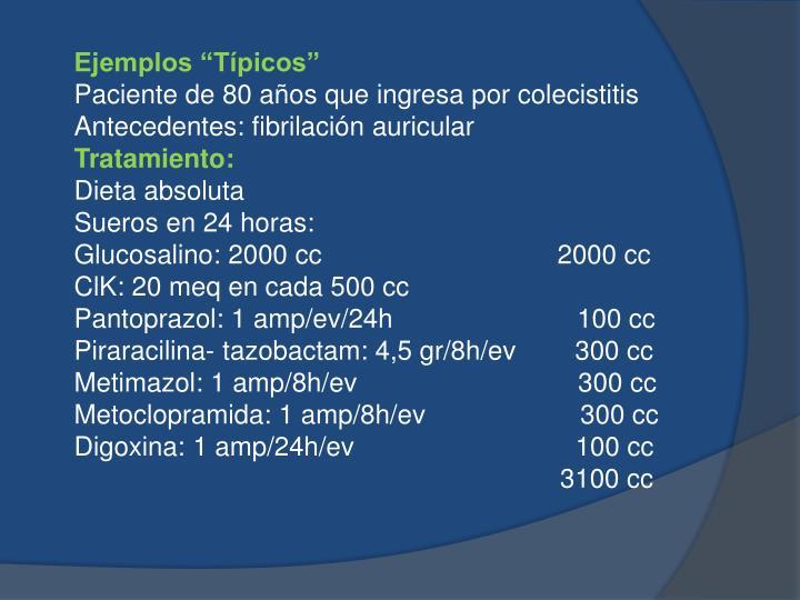 """Ejemplos """"Típicos"""""""