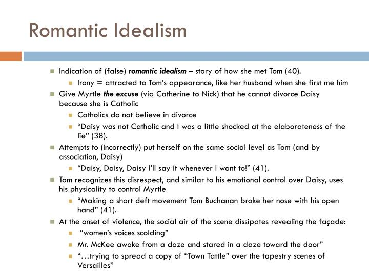 Romantic Idealism