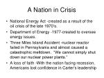 a nation in crisis1