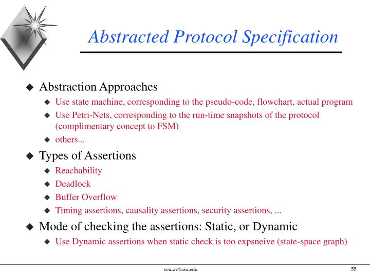 Abstracted Protocol Specification