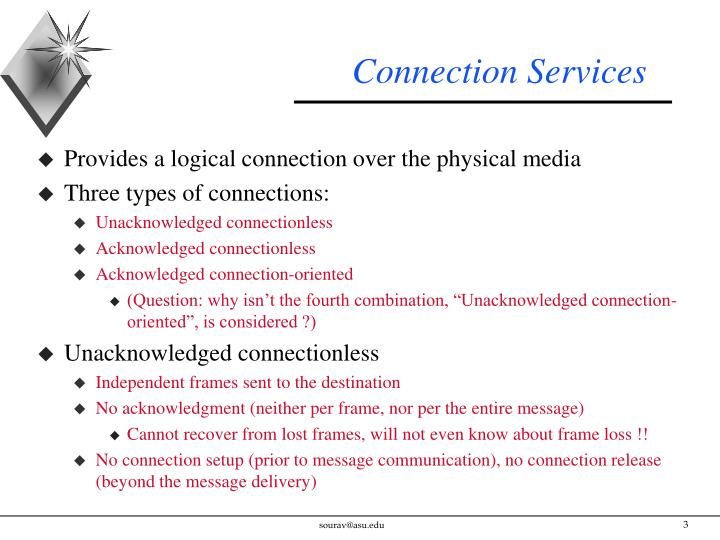 Connection services
