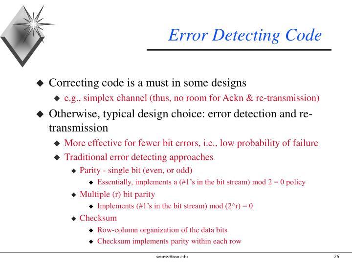 Error Detecting Code