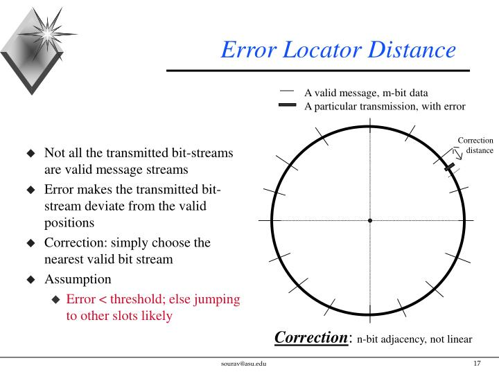Error Locator Distance