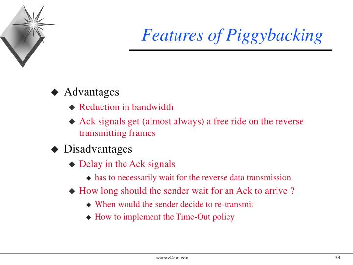 Features of Piggybacking