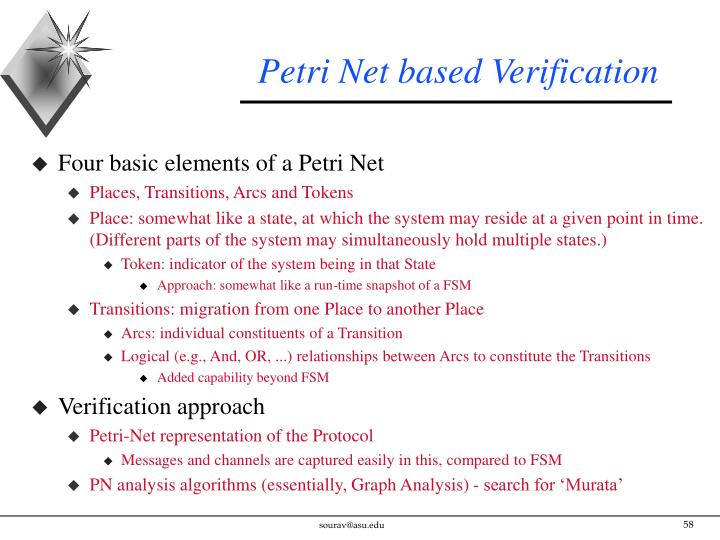 Petri Net based Verification