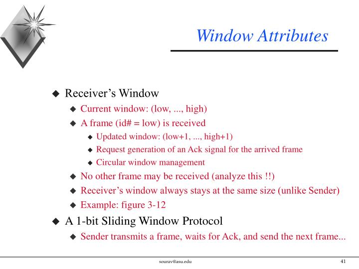 Window Attributes