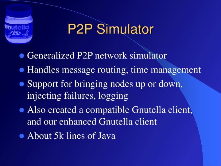 P2P Simulator