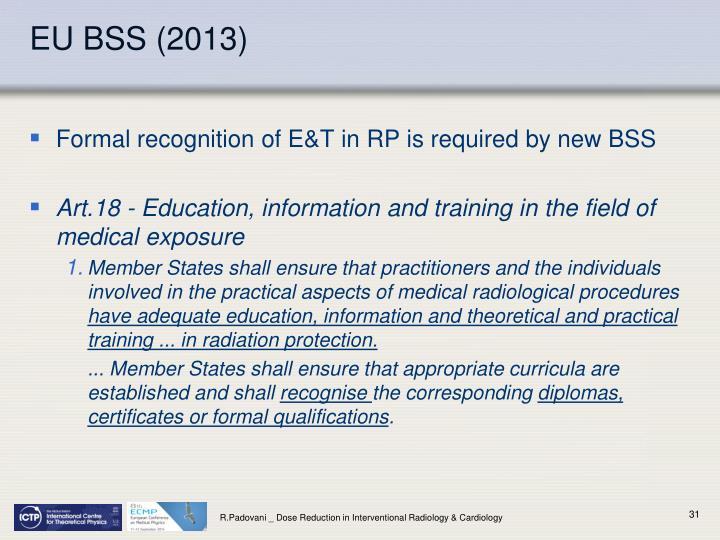 EU BSS (2013)