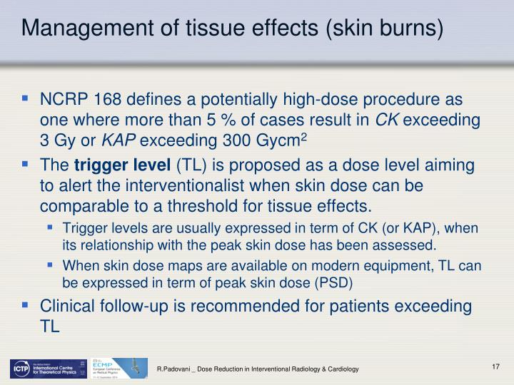 Management of tissue