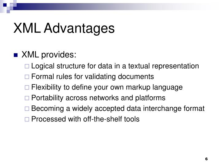 XML Advantages