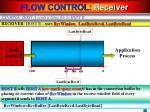 flow control receiver