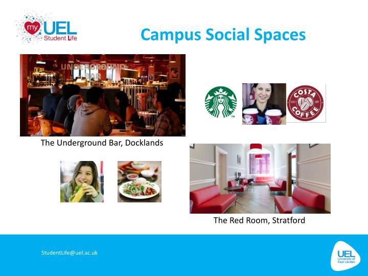 Campus Social Spaces
